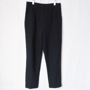 ASOS Black Dress Pants Skinny Leg Size 8